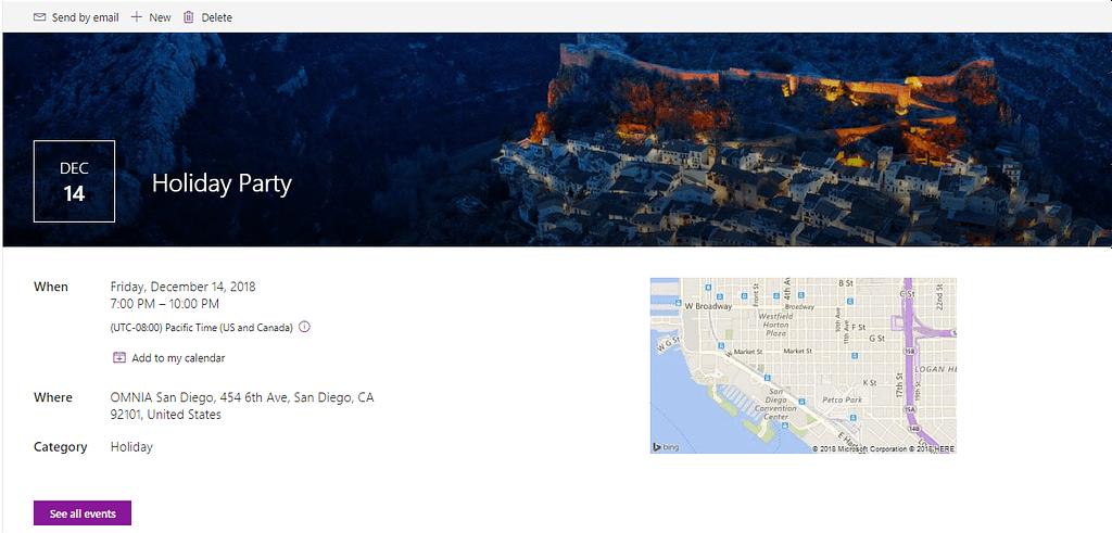 Modern Team Sites List feature image