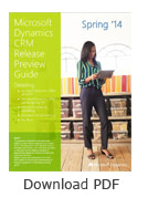 Dynamics CRM 2014 Preview Guide