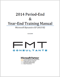 Year-End Closing Instructions for Microsoft Dynamics GP 2013 R2