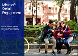 Microsoft Social Engagement New Features