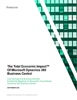 Total Ecomonic Impact of Microsoft Dynamics 365 Business Central