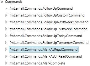 Dynamics CRM Commands