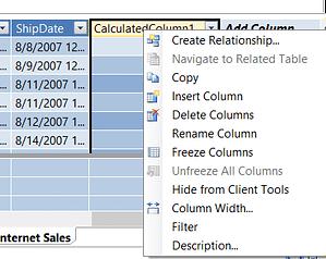 Calculate Column