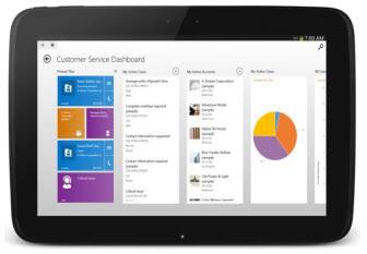 Microsoft Dynamics CRM CRM Tablet App Case Management