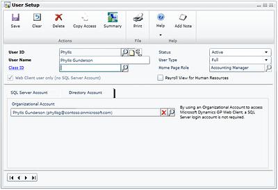 Microsoft Dynamics GP 2015 - Single Signon