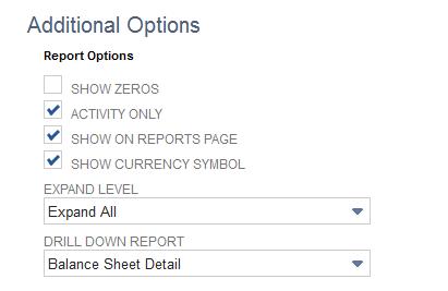 NetSuite Options
