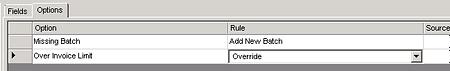 Override invoice limit