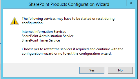 SharePoint 2016 Preview Configuration Wizard 3