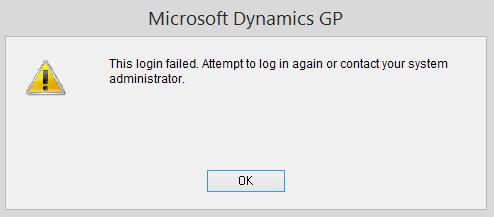 GP Login Error