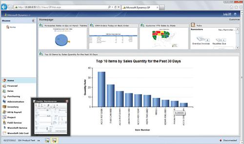 Web Access - Microsoft Dynamics GP 2013