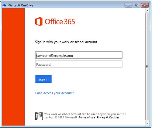 Windows Taskbar OneDrive