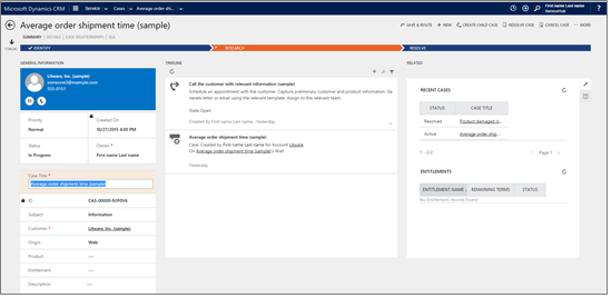 New interactive service hub dashboards and forms help you prioritize workloads 2