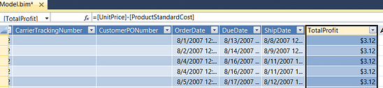 Product Standard Cost