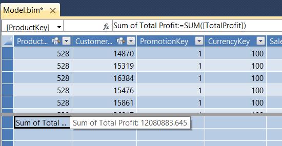 Sum of Total