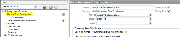 NetSuite Income from Consignment
