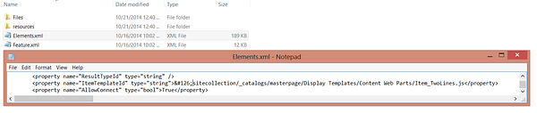 SharePoint 2013 - Content Search Web Part Does Not Retain Properties When Creating a Site From a Custom Template 8