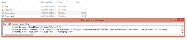 SharePoint 2013 - Content Search Web Part Does Not Retain Properties When Creating a Site From a Custom Template 7