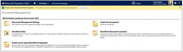 Microsoft Dynamics CRM SharePoint Enhancements
