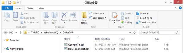 Office365 Folder