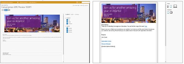 Dynamics CRM 2015 - email editor