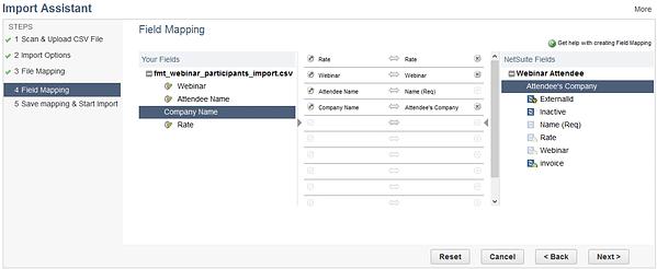 Import Assistant NetSuite