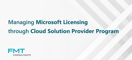 Microsoft Cloud Solution Provider Program