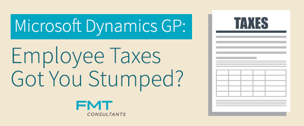 Microsoft-Dynamics-GP-Employee-Taxes