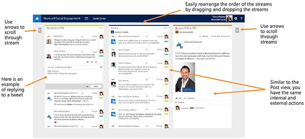 Microsoft Social Engagement Social Center