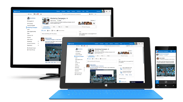 Mobile Features in SharePoint 2016