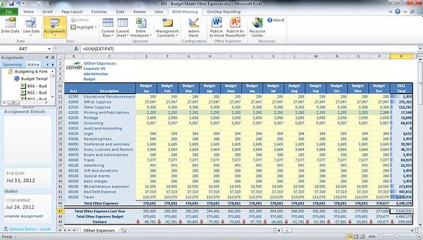 BI360 Budgeting