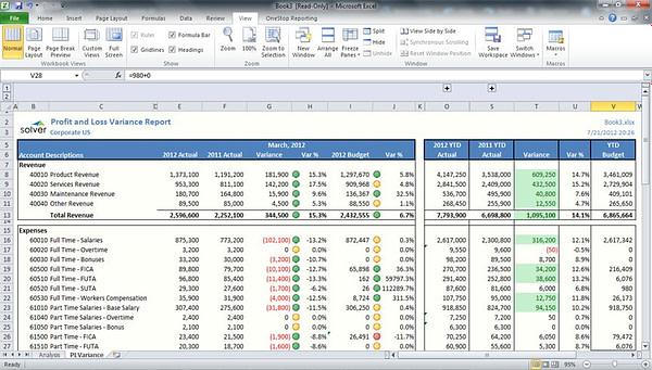 Excel BI360