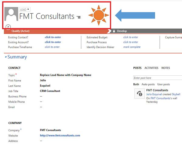 Dynamics CRM 2016 Leads