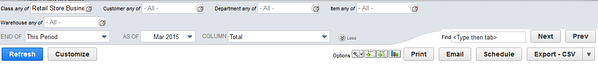 NetSuite Filter