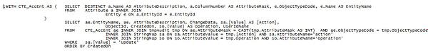 CRM SQL Join Data