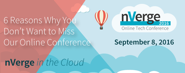 6 Reasons to Attend nVerge In the Cloud