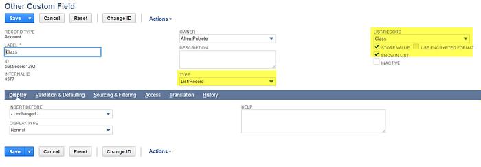 netsuite-customization-create-custom-field