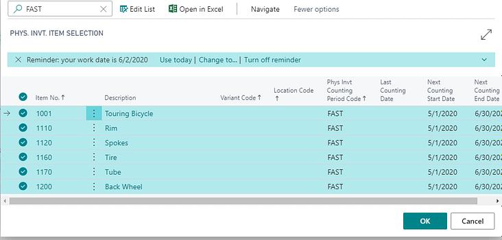 Dynamics Business Central Screenshot