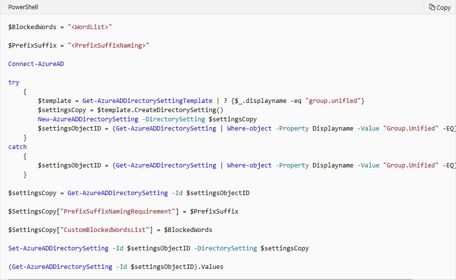 Configure Azure Directory Module image